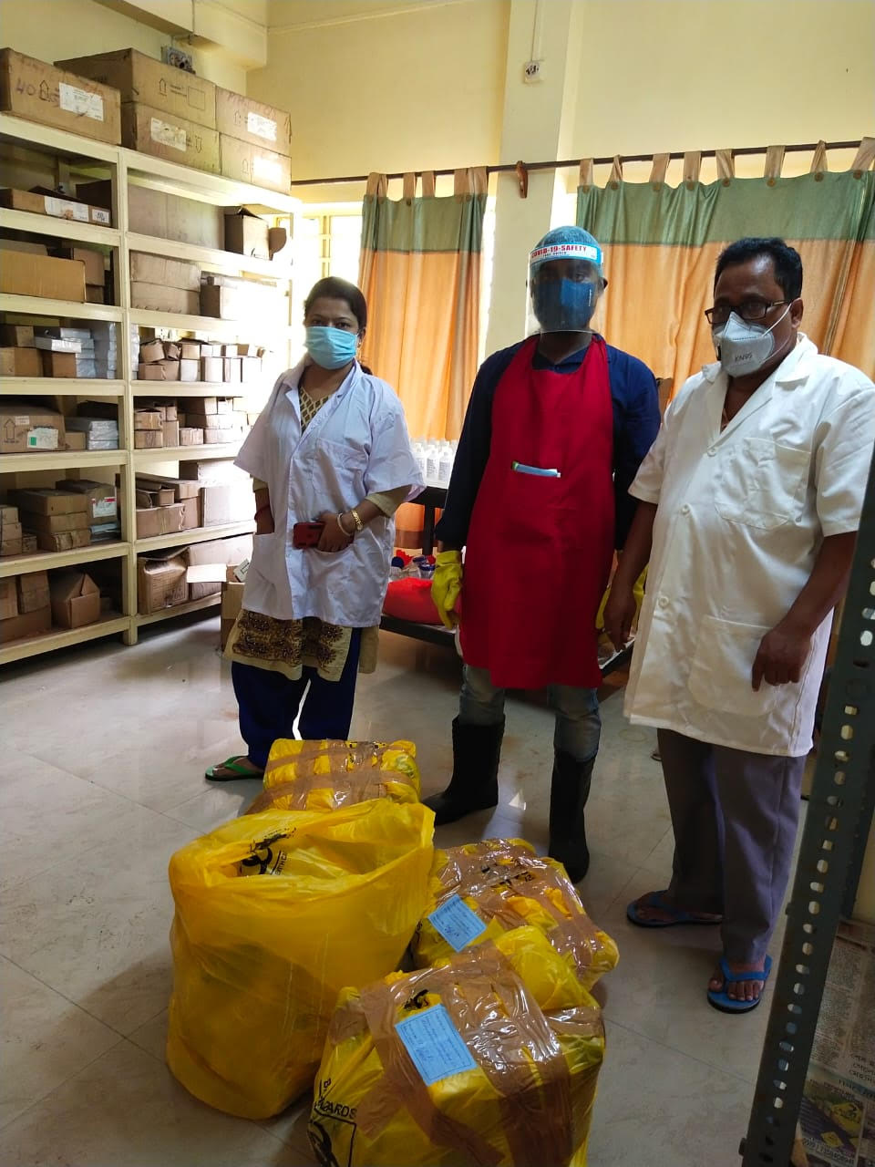 Waste Management at Water Quality Monitoring Laboratory